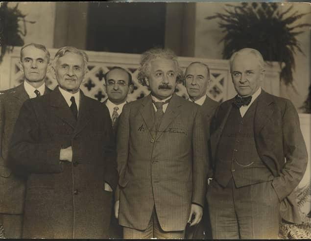 Albert Einstein and Others Physicist