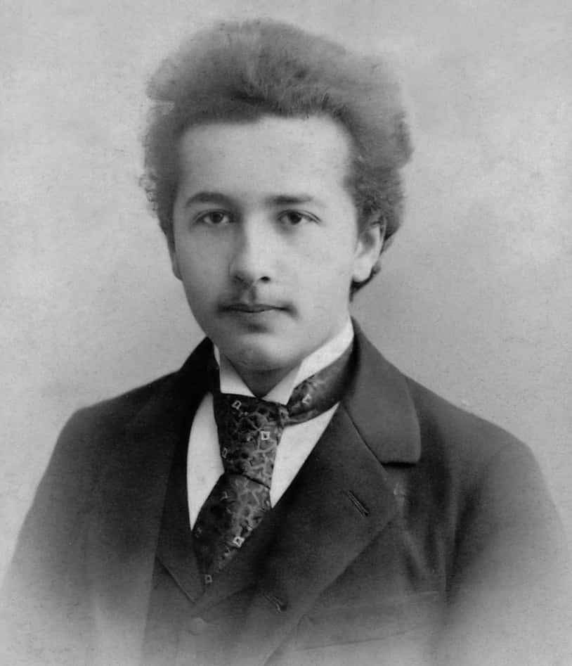 16 year old Albert Einstein