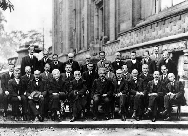 Solvay conference in 1927