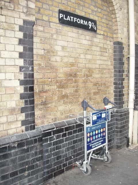 harry potter movie railway station