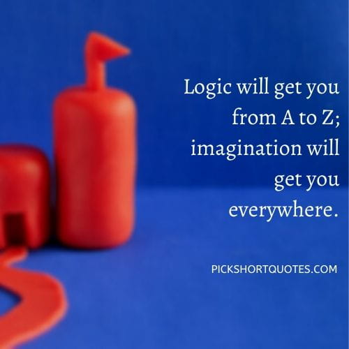 Albert Einstein Imagination Quotes