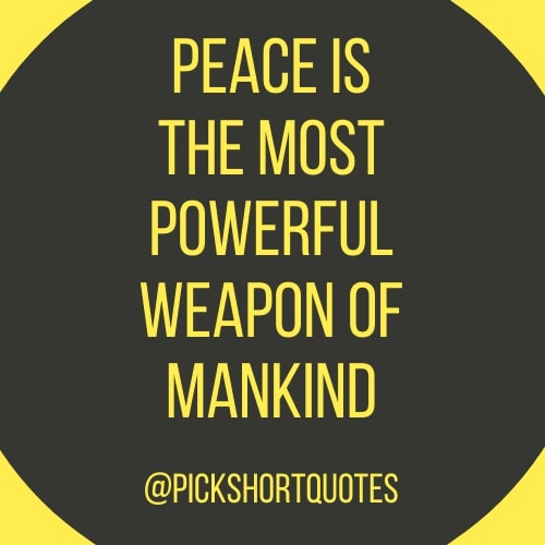 Mahatma Gandhi Quotes On Peace
