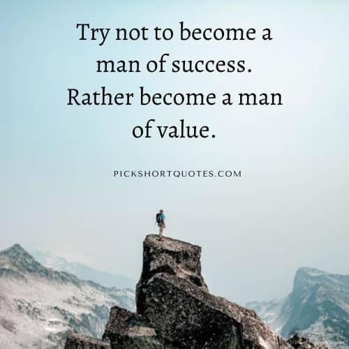 Albert Einstein Quotes on Success