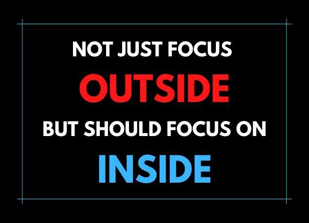 Outside and Inside, Steve Jobs