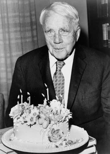 Old Robert Frost