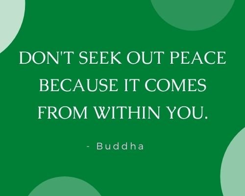 Buddha Quotes on Peace