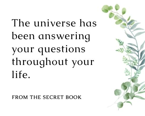 The Secret Quotes About Life