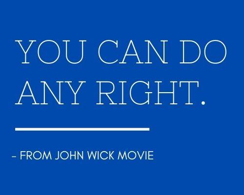 best john wick quotes