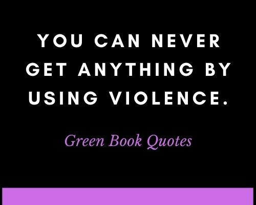 green book movie quotes