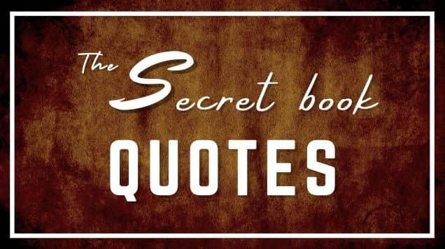 the secret book quotes