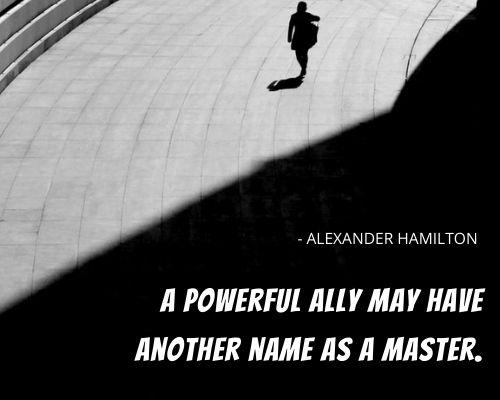 alexander hamilton quotes on government