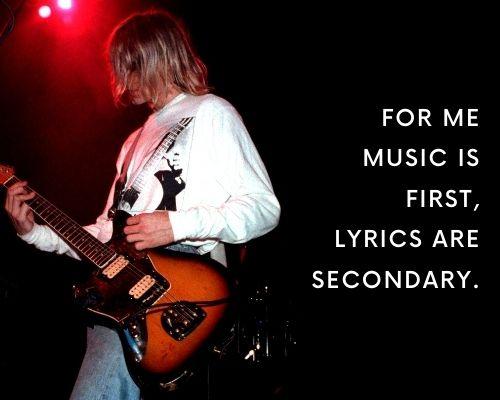 Kurt Cobain Quotes About Music