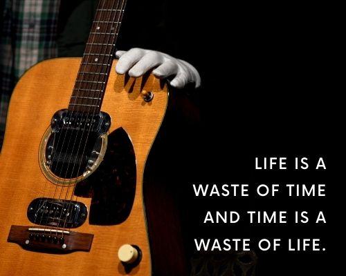 Kurt Cobain Quotes About Life