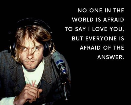 Kurt Cobain Quotes On Love