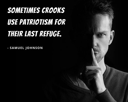 samuel johnson quotes on patriotism
