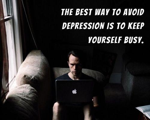 short depression quotes