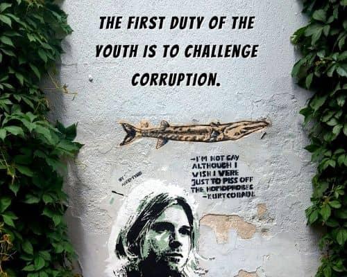 Kurt Cobain Political Quotes
