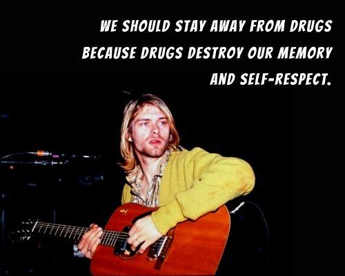 Kurt Cobain Famous Quotes