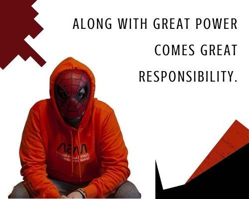 spiderman quotes