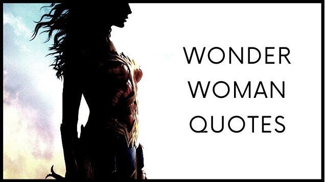 wonder women quotes