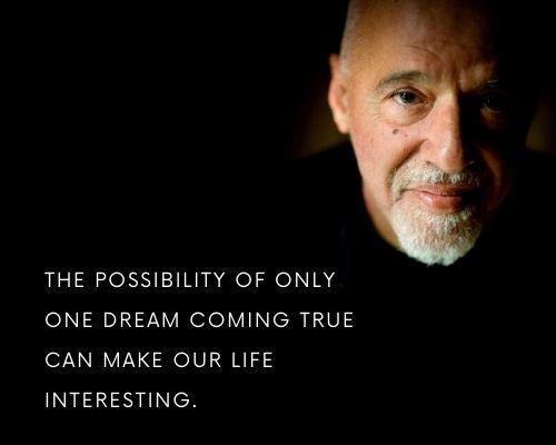 paulo coelho quotes on dreams
