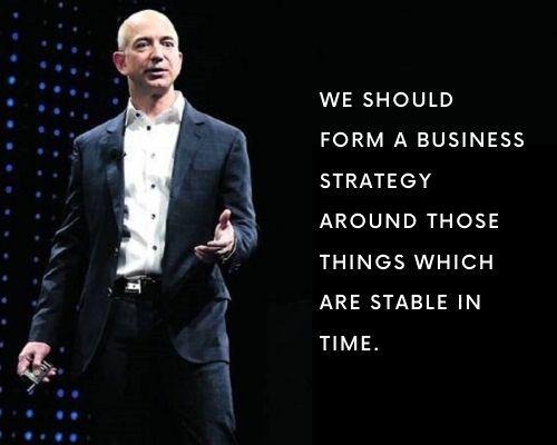 Jeff Bezos Quotes on Business