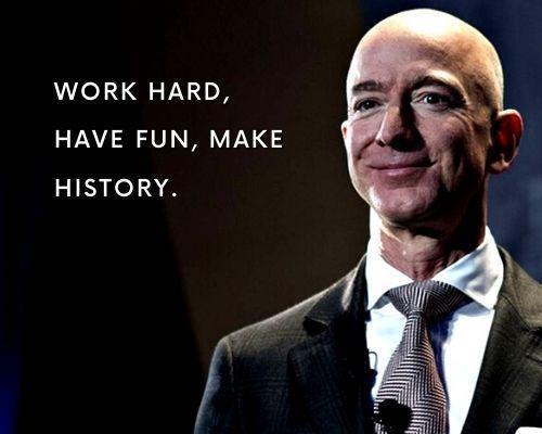 Jeff Bezos Quotes on Success