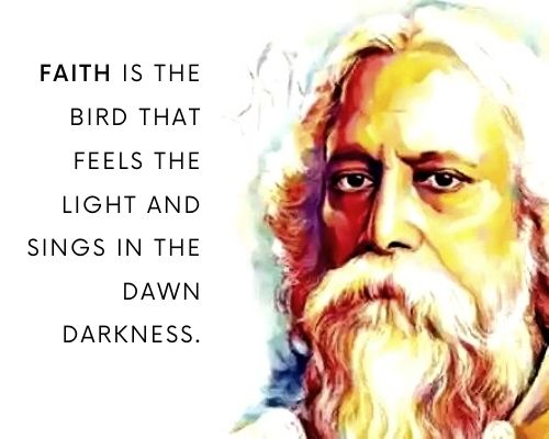 rabindranath tagore quotes on education