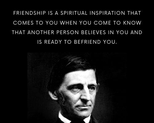 Ralph Waldo Emerson Quotes on Friendship