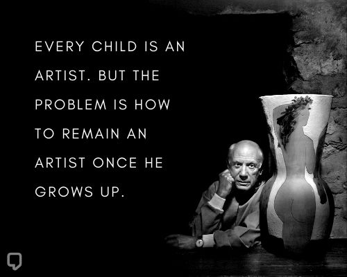Pablo Picasso Quotes About Art