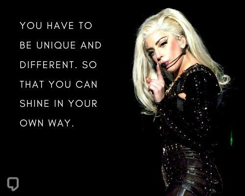 Inspirational Lady Gaga Quotes