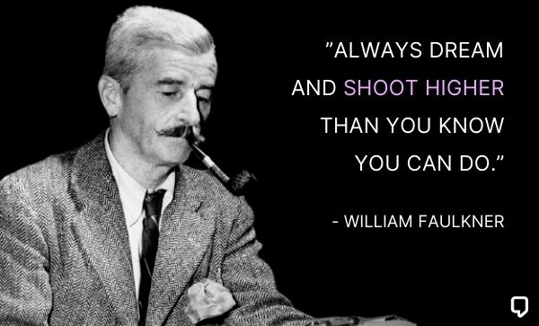 william faulkner quotes on dream