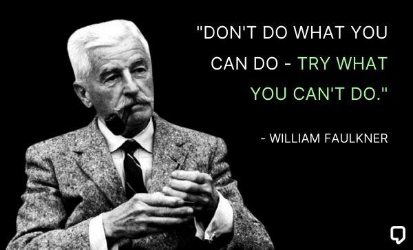 inspring william faulkner quotes
