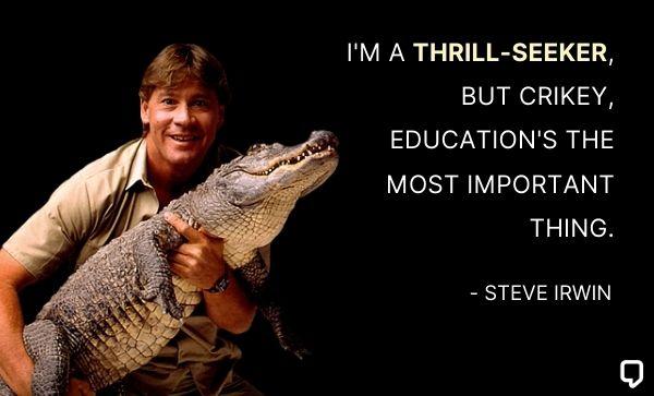 steve irwin quotes crikey