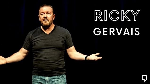 Inspiring Ricky Gervais Quotes On Religion, God And Happiness
