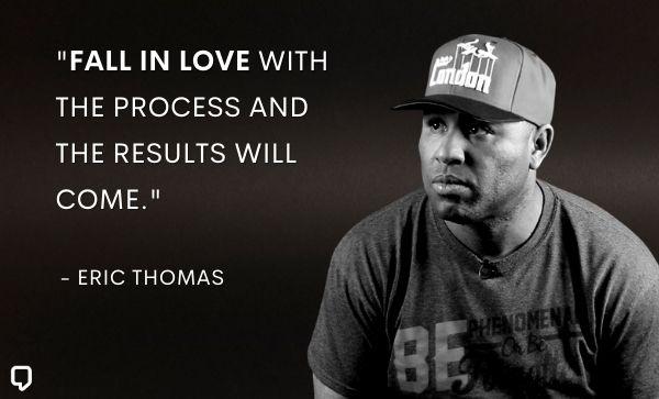 Eric Thomas Quotes on success