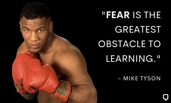 Mike Tyson Fear Quotes