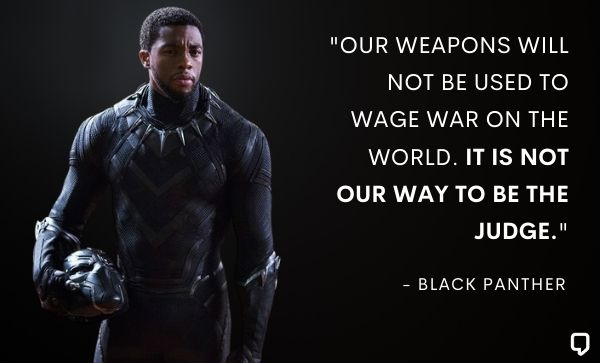 the black panther quotes
