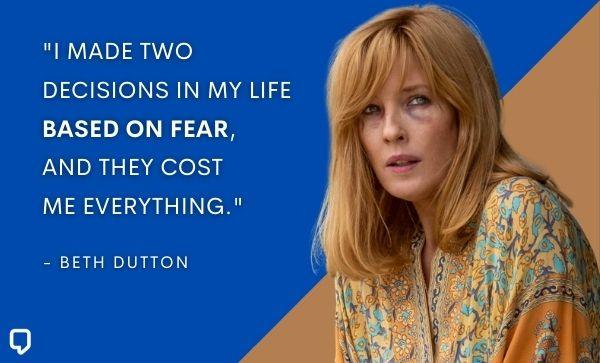 Beth Dutton Best Lines