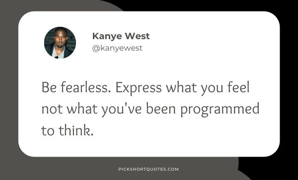 Kanye West Twitter Quotes