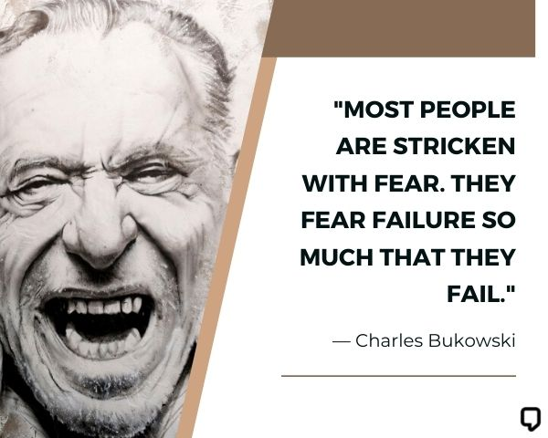 charles bukowski famous quotes