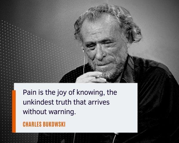 charles bukowski sayings