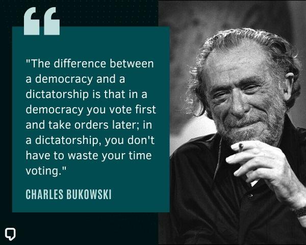 charles bukowski best quotes