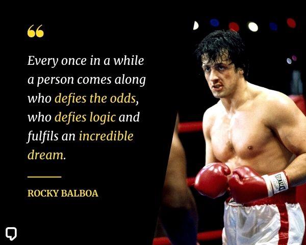 rocky movie quotes