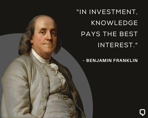 Benjamin Franklin Stock Market Quotes