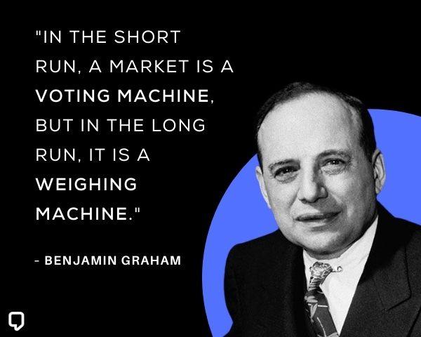 Benjamin Graham Stock Market Quotes