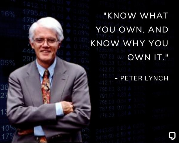 Peter Lynch Stock Market Quotes