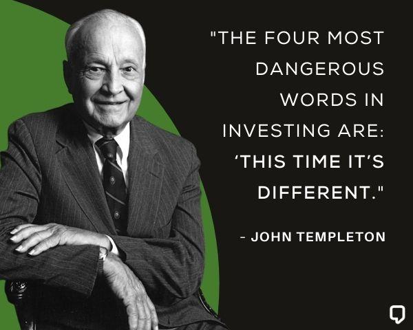Sir John Templeton Stock Market Quotes