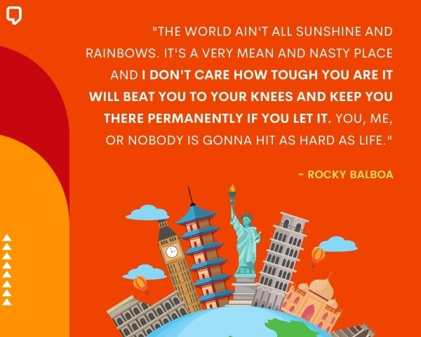 Rocky Balboa Quote About Life