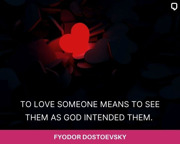 Dostoevsky Quotes About Love